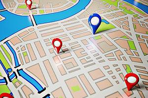 local seo localizzazione Google map