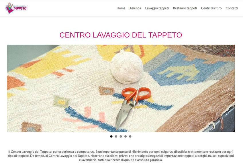 Progetto Centro Lavaggio del Tappeto