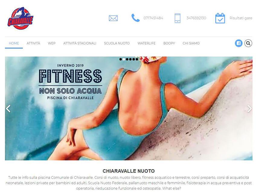 Progetto Chiaravalle nuoto