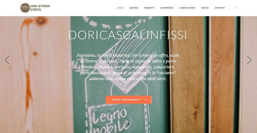 Progetto sito Doricascale