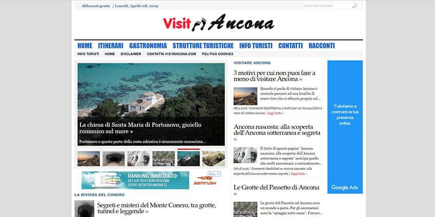 Progetto sito Visit Ancona