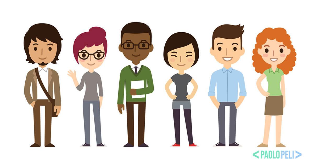 L'identificazione delle Personas nelle stategia di digital marketing