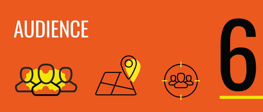 pop-up linee guida audience target da raggiungere