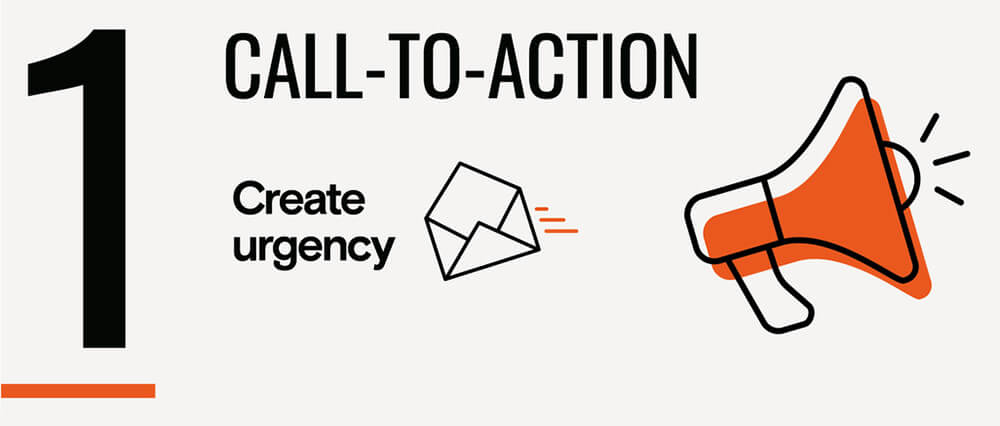 pop-up linee guida call to action